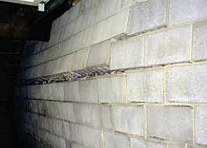 Conrete Basement Wall & Bowed u0026 Cracked Basement Walls | Basement Wall Repair