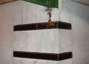 Carbon Fiber Basement Wall Foundation
