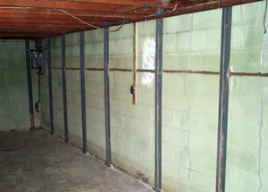 Bowed cracked basement walls basement wall repair for Superior wall foundation
